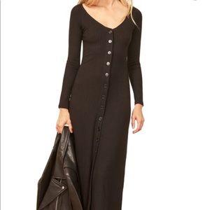 Ella Ribbed Midi Dress